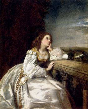William Powell Frith : Juliet O That I Were A Glove Upon That Hand