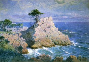 Midway Point California aka Cypress Point near Monterey
