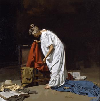 William Whitaker : Steamer Trunk