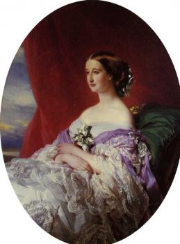 Franz Xavier Winterhalter : The Empress Eugenie