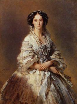 Franz Xavier Winterhalter : The Empress Maria Alexandrovna of Russia