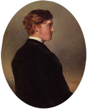 Franz Xavier Winterhalter : William Douglas Hamilton 12th Duke of Hamilton