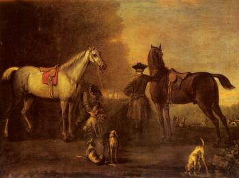 John Wootton : Before The Hunt
