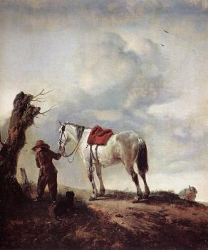 Philips Wouwerman : The White Horse