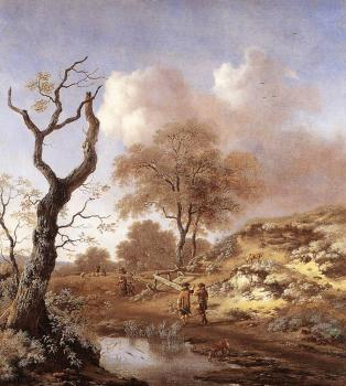 Jan Wynants : A Hilly Landscape