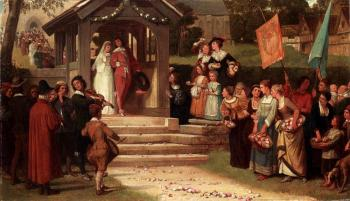 William Frederick Yeames : The Path Of Roses