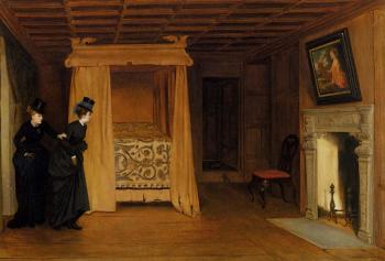 William Frederick Yeames : A Visit To The Haunted Chamber
