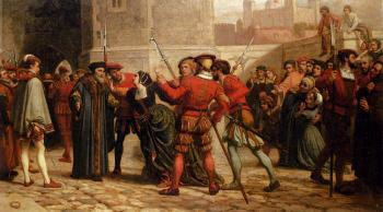William Frederick Yeames : The Meeting Of Sir Thomas