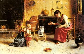 Eugenio Zampighi : A Child's First Step