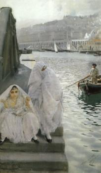 Anders Zorn : In the harbour of Algiers