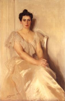 Anders Zorn : Mrs Frances Cleveland