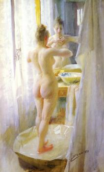 Anders Zorn : The tub