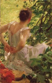 Anders Zorn : Woman dressing