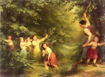 Fritz Zuber-Buhler : The Cherry Thieves