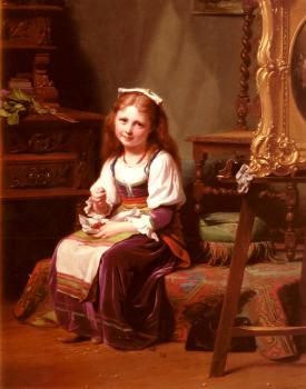 Fritz Zuber-Buhler : The First Cherries
