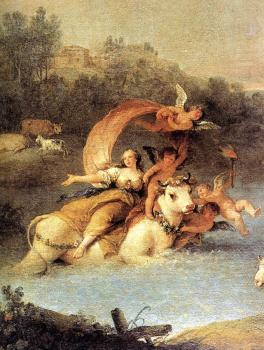 The Rape of Europa (detail)