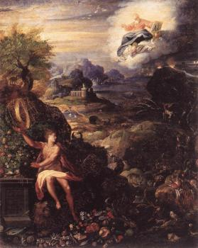Jacopo Zucchi : Allegory of the Creation