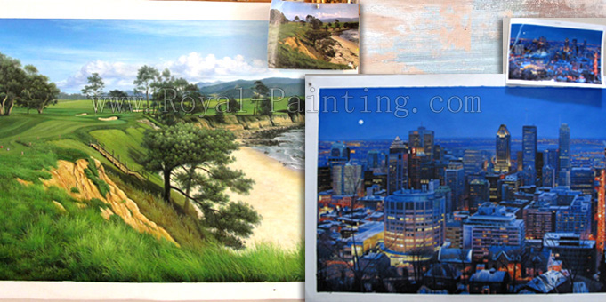 wholesale canvas paintings from Xiamen China
