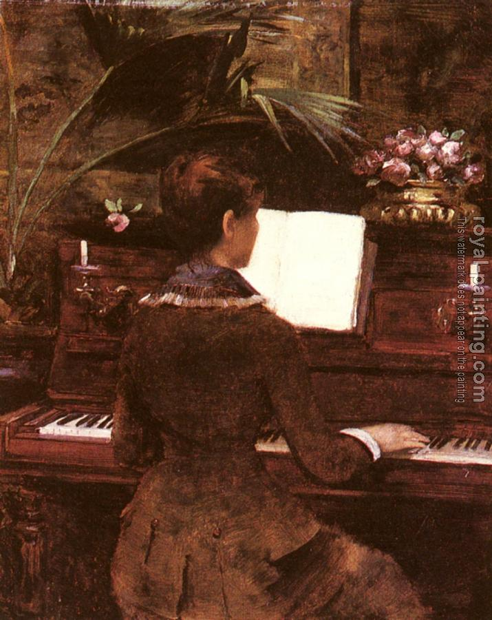 Louise Abbema : At the Piano