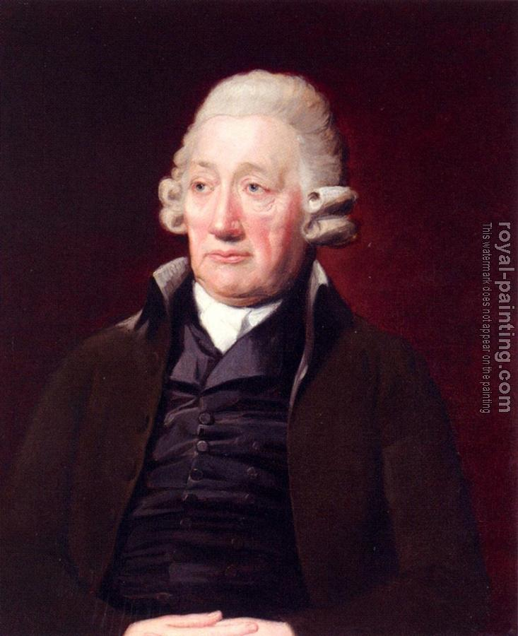 Lemuel Francis Abbott : Portrait Of John Wilkinson(1728-1808), The Staffordshire Iron Master