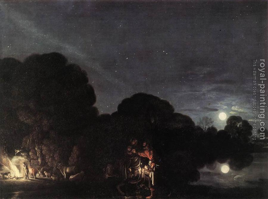 Adam Elsheimer : Flight Into Egypt