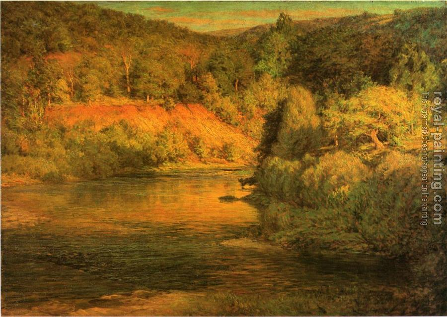 John Ottis Adams : The Bank (The Ebb of Day)