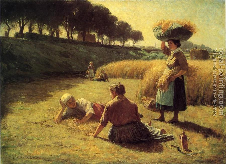 Nooning (Gleaners at Rest)