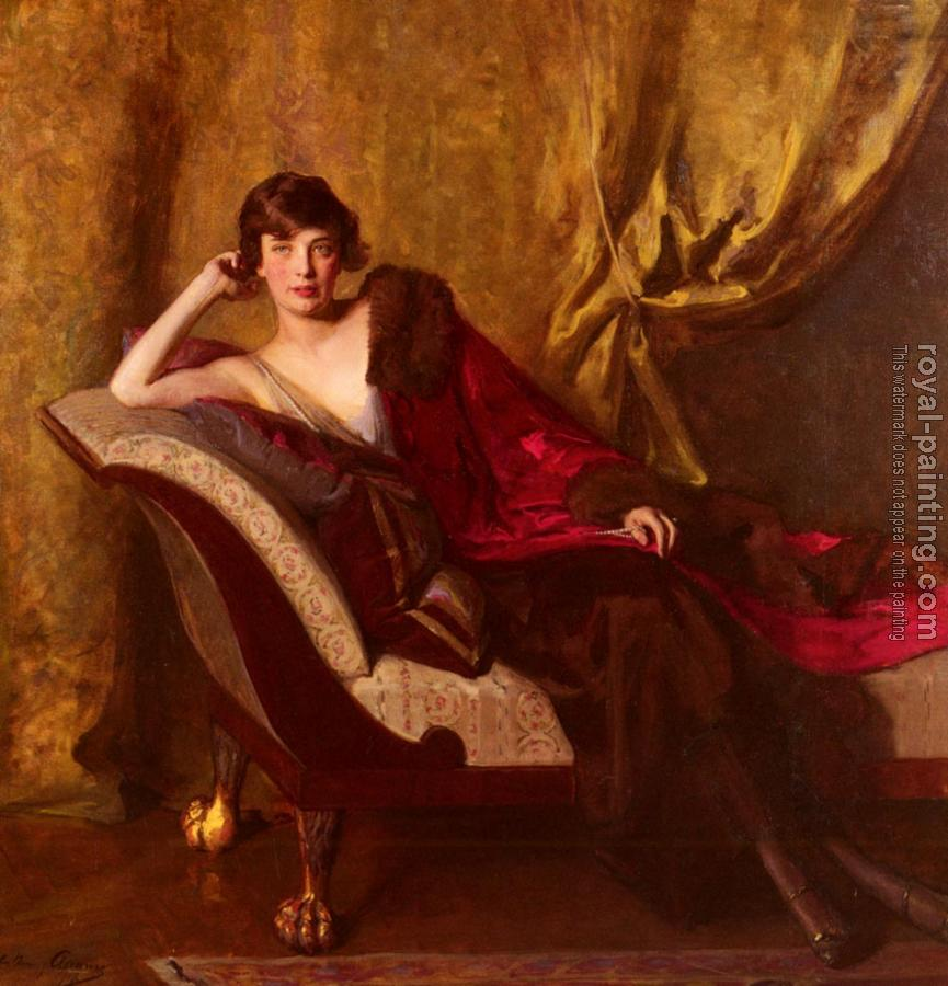 John Quincy Adams : Portrait Of Countess Michael Karolyi