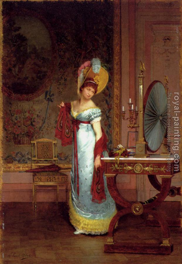 Louis Emile Adan : The New Shawl