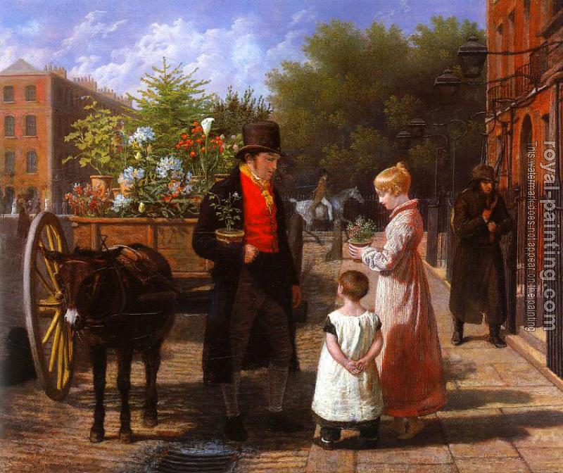 Jacques-Laurent Agasse : The Flower Seller