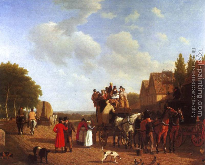 Jacques-Laurent Agasse : The Last Stage on the Portsmouth Road