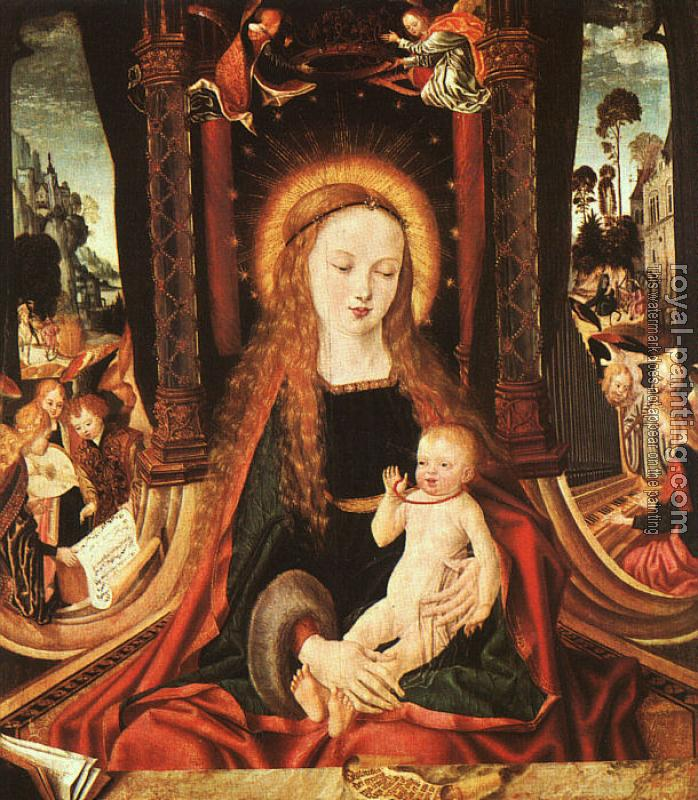 Aix-en-Chapel Altarpiece : Madonna and Child