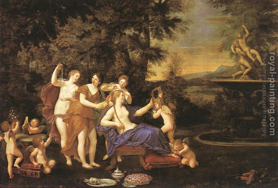 Francesco Albani : Venus Attended by Nymphs and Cupids