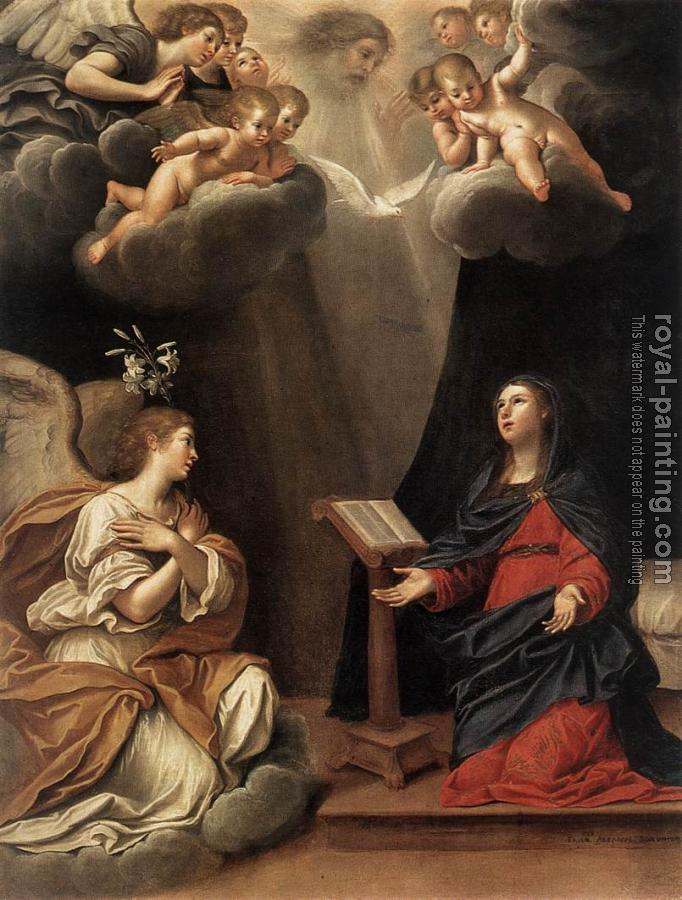Francesco Albani : The Annunciation