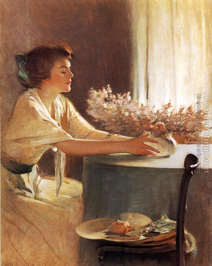 John White Alexander : A Meadow Flower