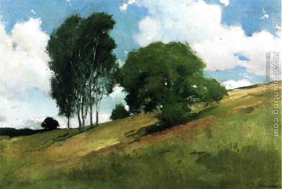 John White Alexander : Landscape Painted at Cornish, New Hampshire