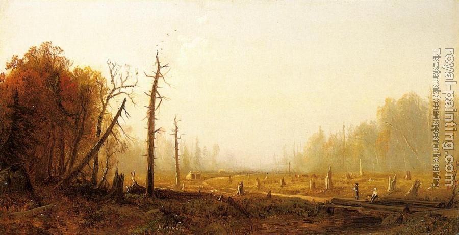 Alfred Thompson Bricher : Autumn Landscape