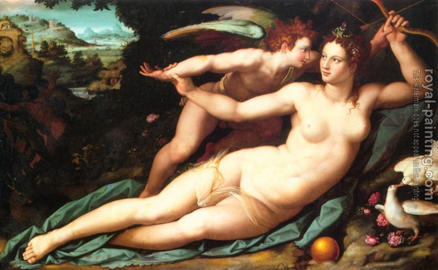 Alessandro Allori : Venus and Cupid