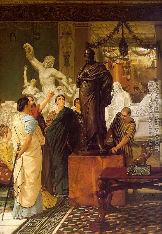Sir Lawrence Alma-Tadema : A Sculpture Gallery