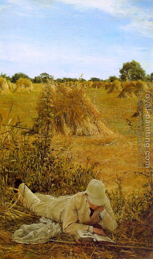 Sir Lawrence Alma-Tadema : Ninety-Four Degrees in the Shade