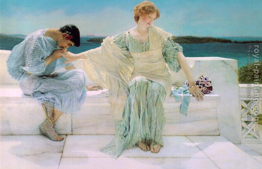 Sir Lawrence Alma-Tadema : Ask Me No More
