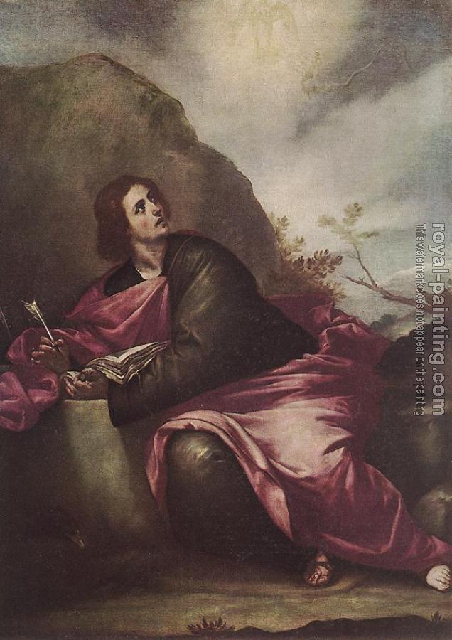 Alonso Cano : St John The Evangelist On Pathmos