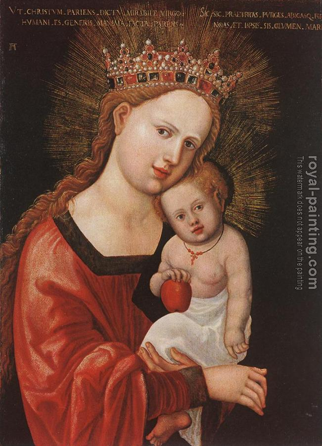 Albrecht Altdorfer : Mary with the child