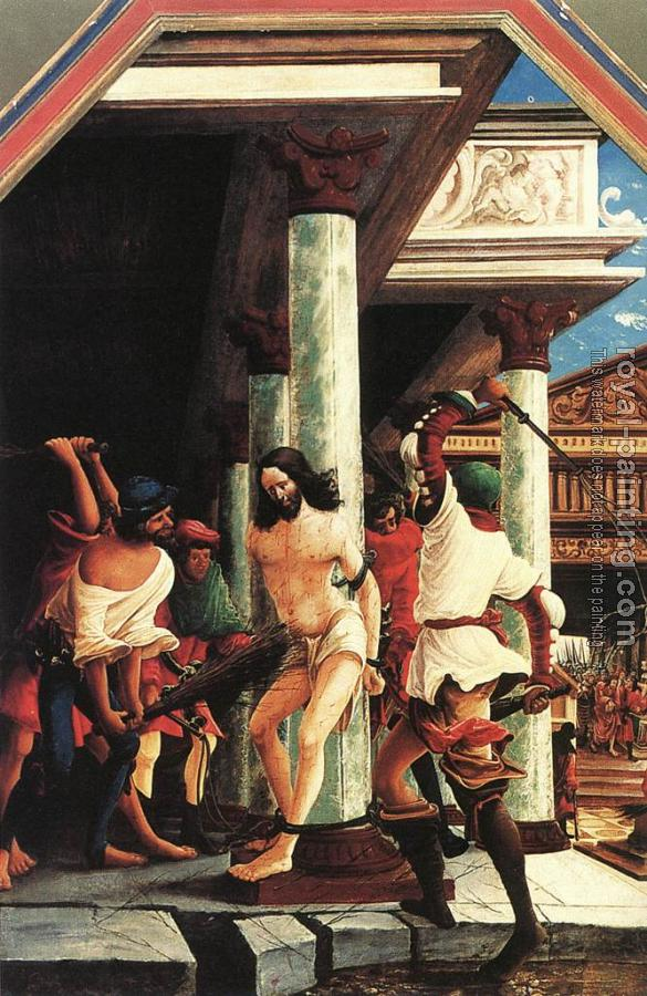 Albrecht Altdorfer : The flagellation of christ