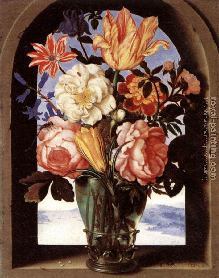Ambrosius Bosschaert : Bouquet of Flowers