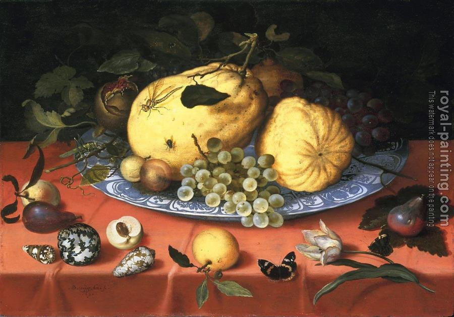 Fruit still life with shells
