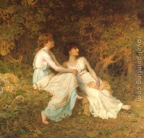 Sophie Gengembre Anderson : Birdsong