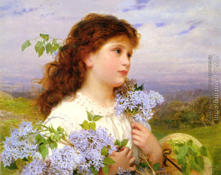 Sophie Gengembre Anderson : The Time of the Lilacs