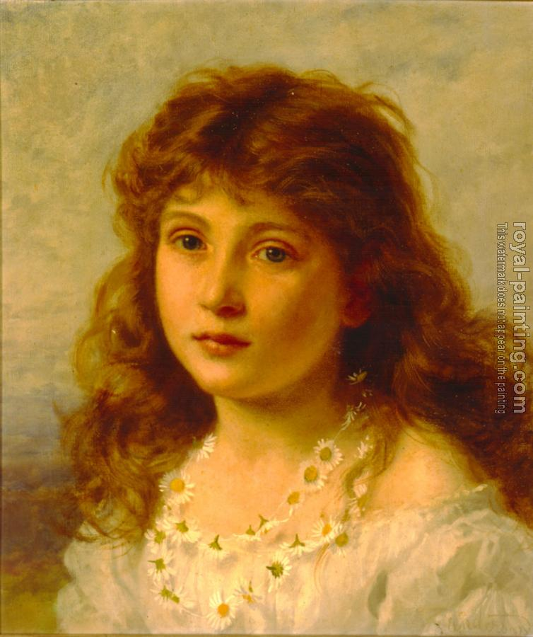 Sophie Gengembre Anderson : Young Girl