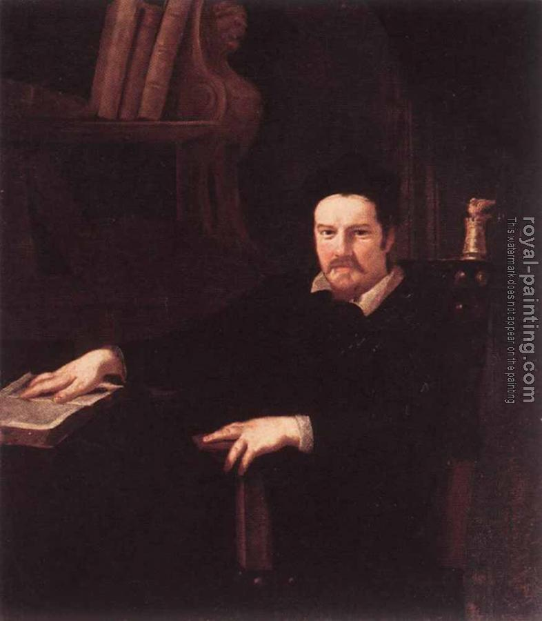 Portrait Of Monsignor Clemente Merlini